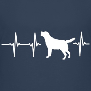 My heart beats for dogs! Shirts - Teenage Premium T-Shirt