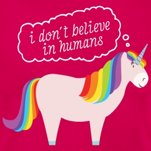 I Don't Believe In Humans T-Shirts - Frauen T-Shirt