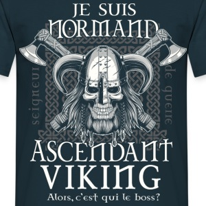 T-shirt Normand ascendant Viking - Tee shirt Homme