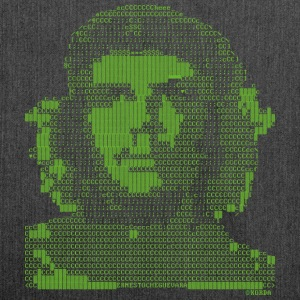 Che Guevara Pixel Tote Bag - Shoulder Bag made from recycled material