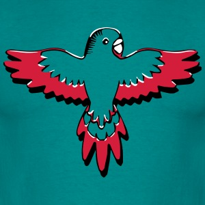 budgie bird art T-Shirts - Men's T-Shirt