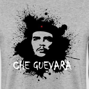 Che Guevara Splatter Men Hoodie - Men's Sweatshirt