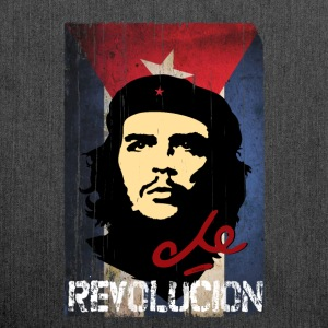 Che Guevara Cuba Flag Tote Bag - Shoulder Bag made from recycled material