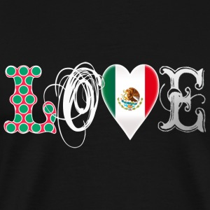 Love Mexico White T-Shirts - Men's Premium T-Shirt