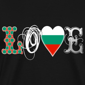 Love Bulgaria White T-Shirts - Men's Premium T-Shirt
