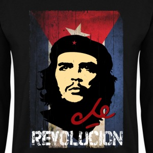 Che Guevara Cuba Flag Men Hoodie - Men's Sweatshirt