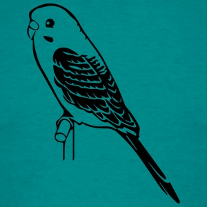 budgie bird pet T-Shirts - Men's T-Shirt