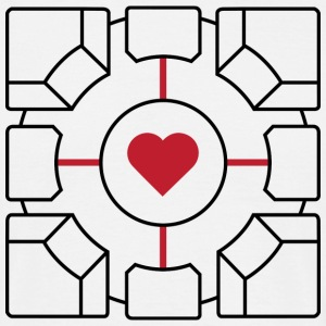 Companion Cube - Men's T-Shirt