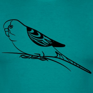 budgie bird T-shirts - Mannen T-shirt