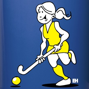 Field  hockey girl Mugs & Drinkware - Full Colour Mug