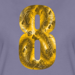 number eight Camisetas - Camiseta premium mujer