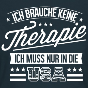 Therapie USA Fan - Frauen T-Shirt