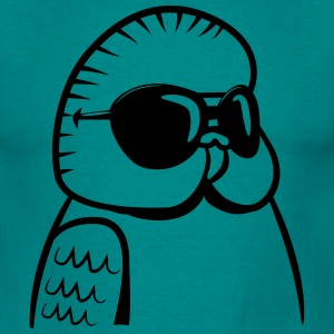 wellensittich sunglasses cool T-Shirts - Men's T-Shirt