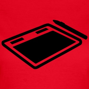Tablet T-Shirts - Frauen T-Shirt