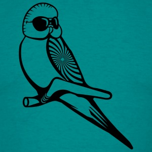 wellensittich pattern sunglasses T-Shirts - Men's T-Shirt