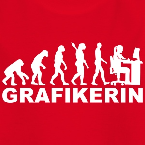 Grafikerin T-Shirts - Kinder T-Shirt