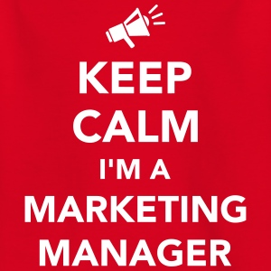 Keep calm I'm Marketing Manager T-Shirts - Kinder T-Shirt