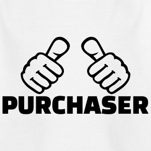 Purchaser T-Shirts - Kinder T-Shirt