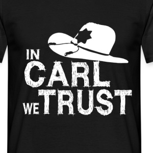 In Carl we trust Tee shirts - T-shirt Homme