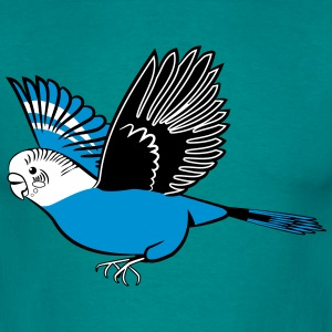 budgie fly T-Shirts - Men's T-Shirt