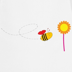 Bee / Flower / Cute / Baby / Bébé / Biene Abeille  Aprons - Cooking Apron