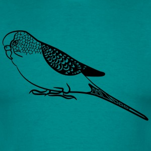 budgerigar T-Shirts - Men's T-Shirt