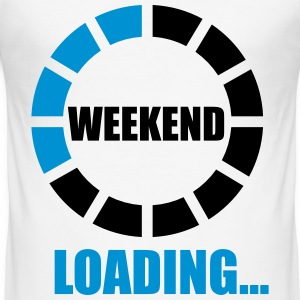 weekend loading T-Shirts - Men's Slim Fit T-Shirt
