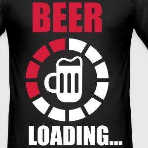 beer loading T-shirts - slim fit T-shirt