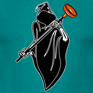 Death hooded wc sucker Pümpel grappig T-shirts - Mannen T-shirt