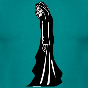 Death hooded halloween Grusel T-shirts - Mannen T-shirt