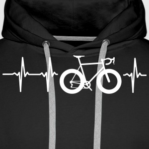 I LOVE MY BIKE! Hoodies & Sweatshirts - Men's Premium Hoodie