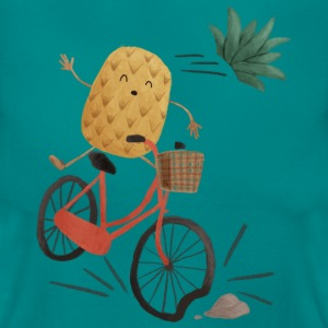 Pineapple Bike Obstacle T-shirts - T-shirt dam