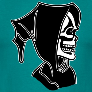 Death hoody halloween T-shirts - Mannen T-shirt