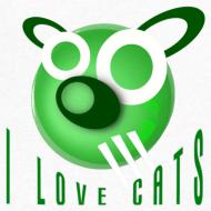 Design ~ Men's V-Neck T-Shirt - I Love Cats