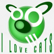 Design ~ I Love Cats - Baseball Cap