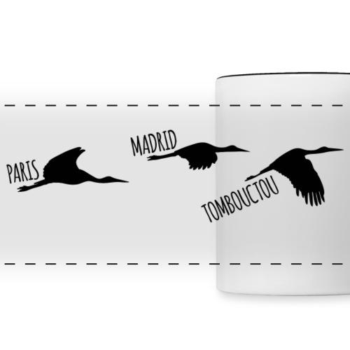 3 horizons oiseau black