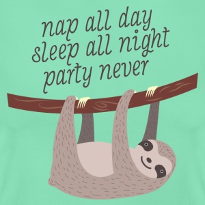 Nap All Day, Sleep All Night, Party Never T-shirts - T-shirt dam