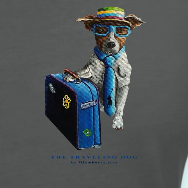 Traveling Dog- Ladies -V Neck