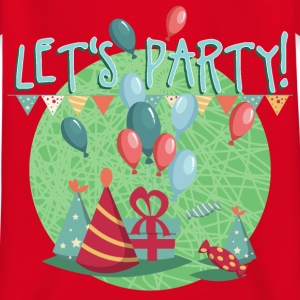 lets_party_06201603 T-Shirts - Kinder T-Shirt
