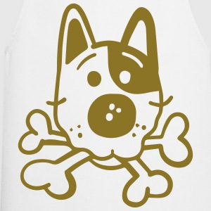 Dog with bones  Aprons - Cooking Apron