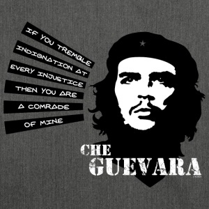 Che Guevara If you tremble with Indignation Stof - Schultertasche aus Recycling-Material