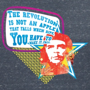 Che Guevara Women T-Shirt The Revolution is not a - Dame-T-shirt med V-udskæring