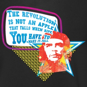 Che Guevara Men T-Shirt The Revolution is not an  - Men's V-Neck T-Shirt