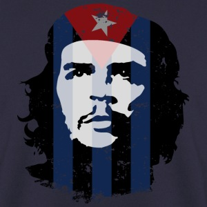 Che Guevara Men Hoodie Cuba Flag - Men's Sweatshirt