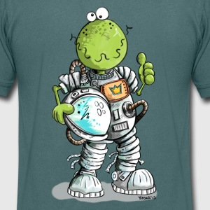 Astronaute Grenouille Tee shirts - T-shirt Homme col V