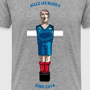 T-Shirt Equipe de France Supporter EURO 2016 - T-shirt Premium Homme