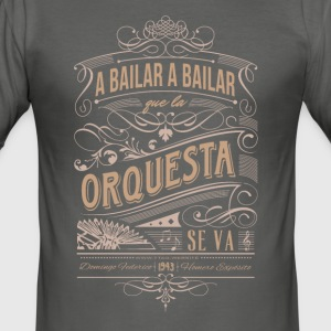 A Bailar - Men's Slim Fit T-Shirt