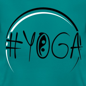 Yoga - Yin Yang  T-Shirts - Frauen T-Shirt