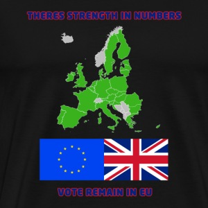 Remain in European Union - Men's Premium T-Shirt