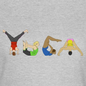 Yoga Poses - Women's T-Shirt